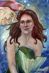 Detail Image for art Mother's Little Mermaid
