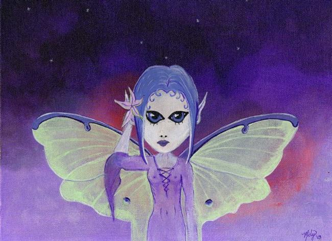 Art: Luna Faery at Twilight by Artist Misty Benson