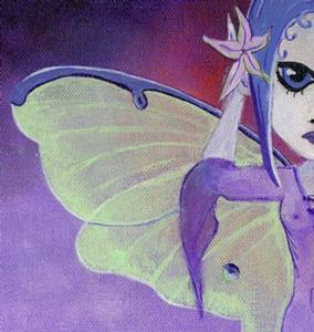 Detail Image for art Luna Faery at Twilight