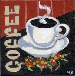 Art: Cup o' Joe by Artist Muriel Areno