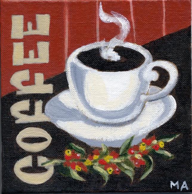 Art: Cup o' Joe by Artist Muriel Areno