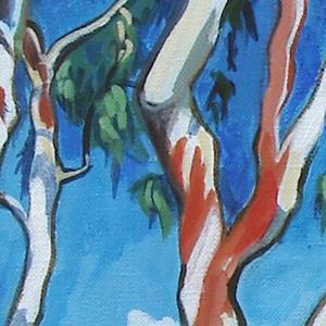 Detail Image for art Eucalyptus, Irvine, California