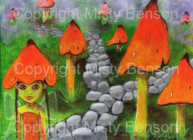 Art: Faery Camouflage by Artist Misty Monster (Benson)