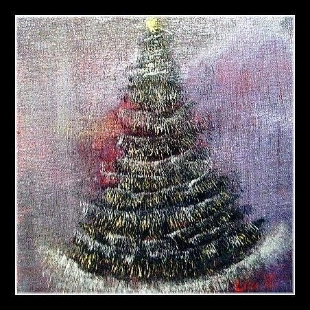 Art: CHRISTMAS NIGHT-sold by Artist LUIZA VIZOLI