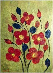 Detail Image for art POPPY=sold