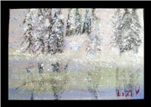 Detail Image for art SNOWY VIEW-SOLD