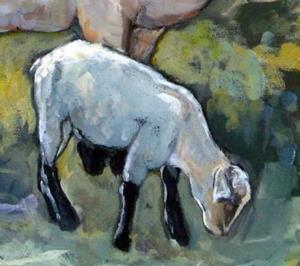 Detail Image for art Wheeler's Sheep