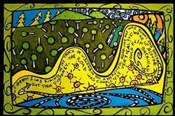Art: Dreaming Uphill by Artist Anne Leuck Feldhaus