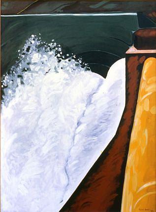 Art: Spillways by Artist Muriel Areno