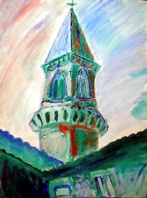 Art: Church by Artist Shane Darren Ervin