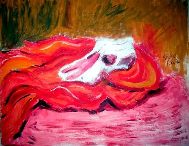 Art: Skull by Artist Shane Darren Ervin