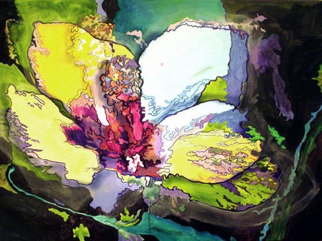 Art: Hibiscus by Artist Lisa Thornton Whittaker