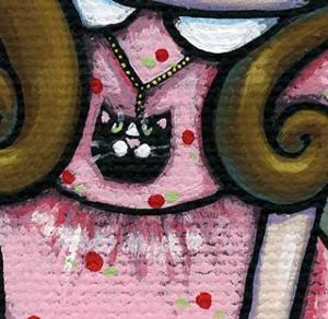 Detail Image for art Rip- Wallflower