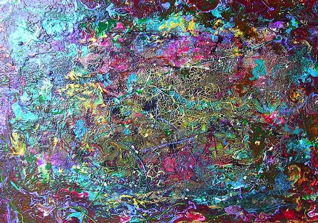 Art: MYSTIC - (SOLD) by Artist Dawn Hough Sebaugh