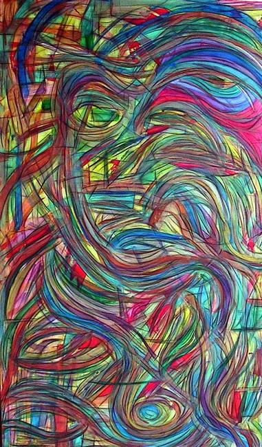 Art: Eyes of Persephone (SOLD) by Artist Dawn Hough Sebaugh