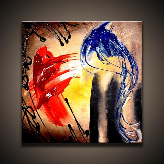 Art: Side by Side by Artist Peter D.