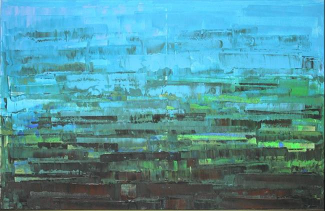 Art: Abstraction - 94 (s) by Artist Luba Lubin