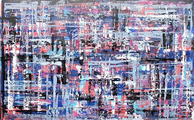 Art: Abstraction 20 (s) by Artist Luba Lubin