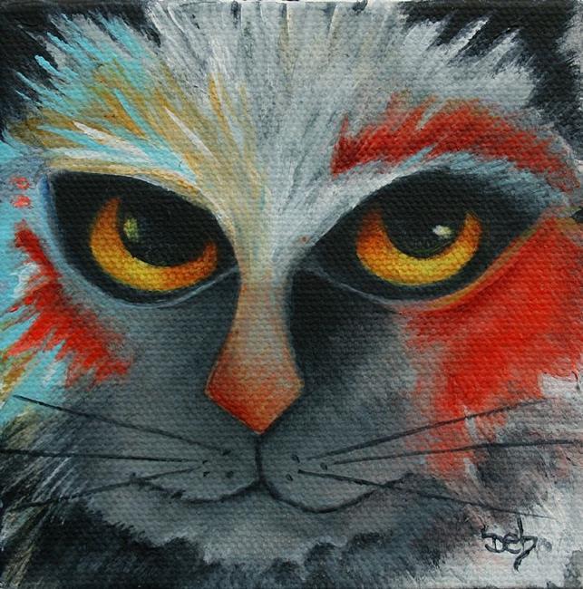 Art: Wild Cat II by Artist Deb Harvey