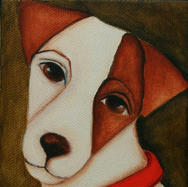 Art: JRT by Artist Deb Harvey
