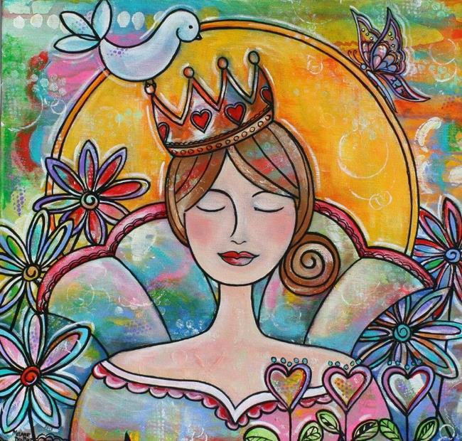 Art: The Queen of Hearts by Artist Melanie Douthit