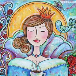 Art: The Java Queen by Artist Melanie Douthit