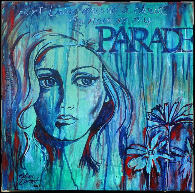 Art: Don't Rain on My Parade by Artist Melanie Douthit