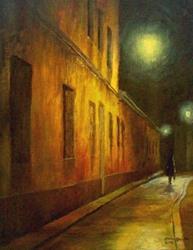 Art: Polish Nocturne by Artist Milena Gawlik
