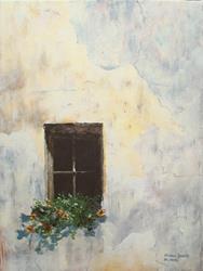 Art: Spring Window by Artist Milena Gawlik
