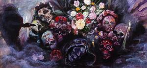 Detail Image for art Doña Carmela Leaving Offerings On Her Own Alter