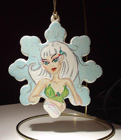 Art: Winter Fairy by Artist Noelle Hunt