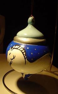 Detail Image for art Horse Ornament for Samantha
