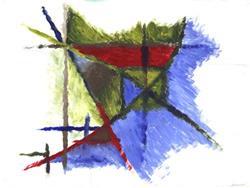 Art: Acrylic Study No. 7 by Artist Jaye Coltharp