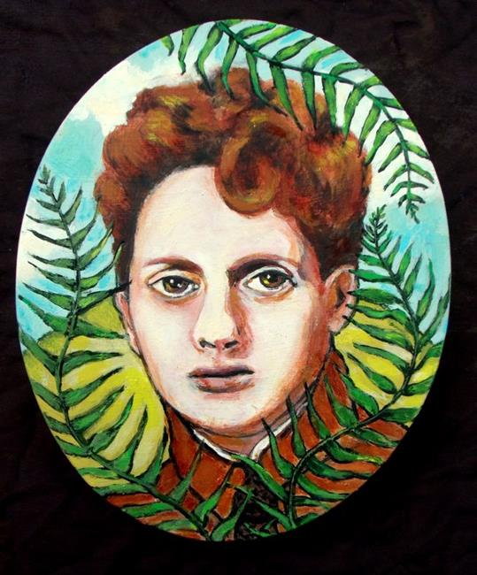 Art: Dylan Thomas - Fern Hill by Artist Patience