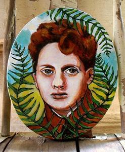 Detail Image for art Dylan Thomas - Fern Hill