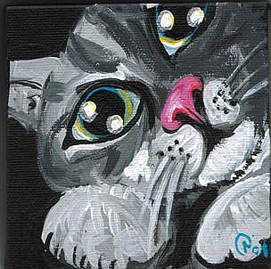 Art: Kini's Kitty by Artist Noelle Hunt