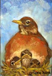 Art: For the Birds by Artist Catherine Darling Hostetter