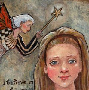 Detail Image for art I believe in Fairies