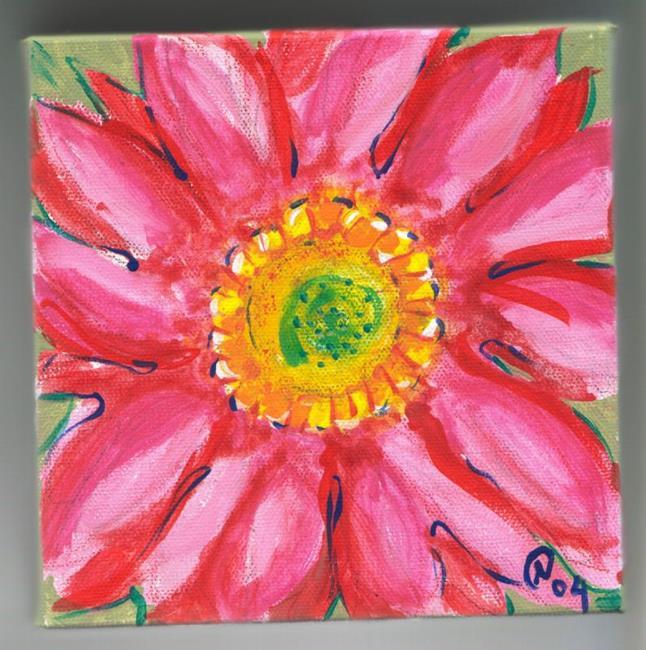 Art: Gerber Daisy by Artist Noelle Hunt