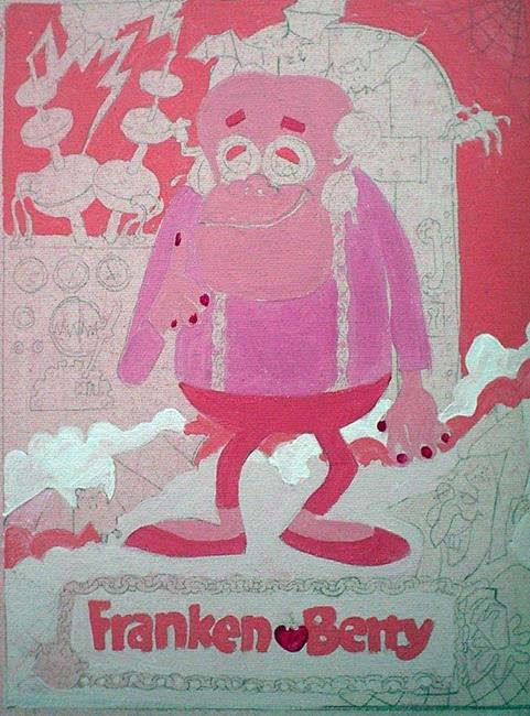 Art: WIP:Frankenberry My childhood sweetheart by Artist Noelle Hunt