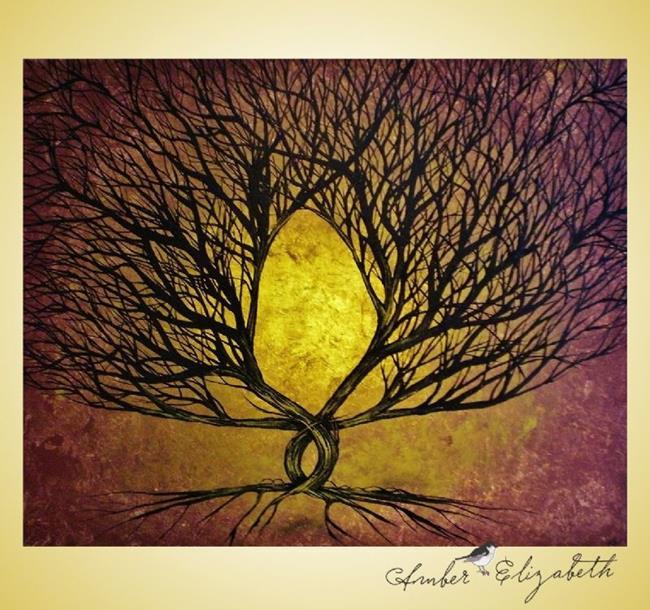 Art: Forever Rustic (sold) by Artist Amber Elizabeth Lamoreaux