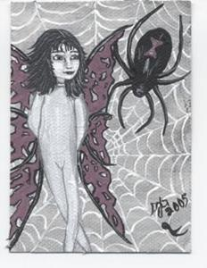 Detail Image for art Spider fairy