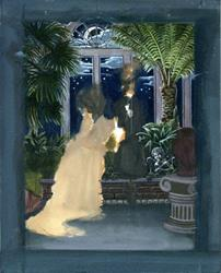 Art: WIP - Weasel Wedding by Artist Madeline  Carol Matz