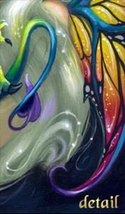 Detail Image for art Darling Dragonling IV ORIGINAL PAINTING