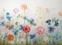 Art: Meadow by Artist Milena Gawlik
