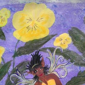 Detail Image for art Pansy Pixie
