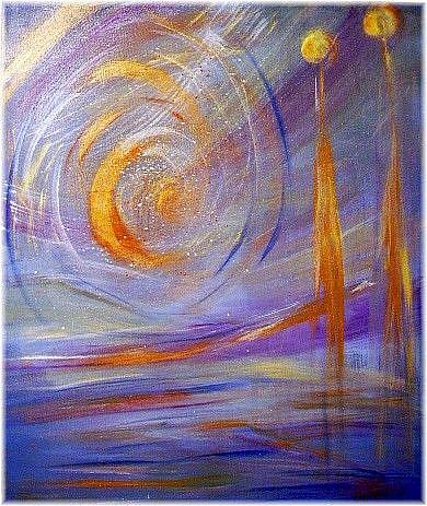 Art: GENESIS- sold by Artist LUIZA VIZOLI
