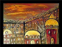 Art: GATE OF JERUSALEM by Artist LUIZA VIZOLI