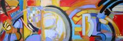 Art: Music 4 My Soul by Artist Muriel Areno
