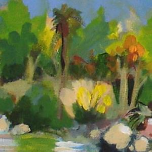 Detail Image for art Lakeside Early Fall